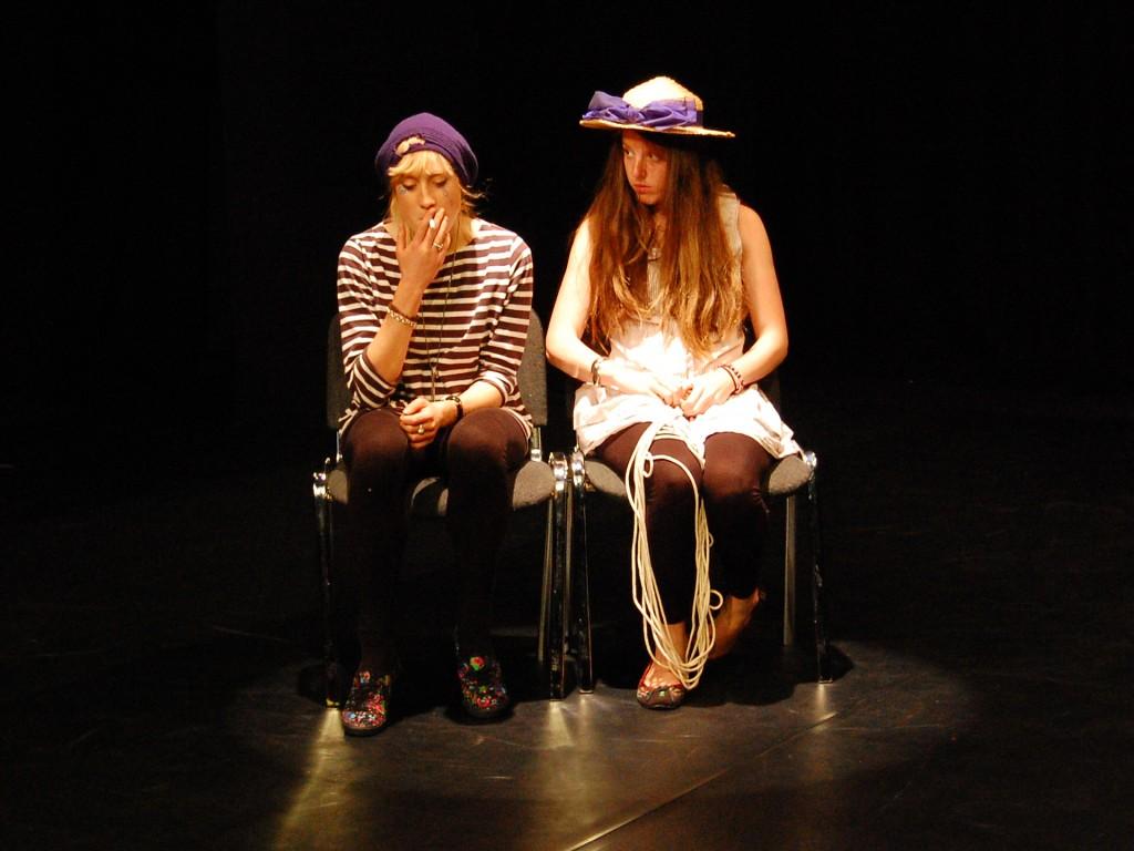 theatre studies students at WT leeds