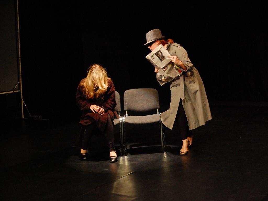 theatre studies students at leeds