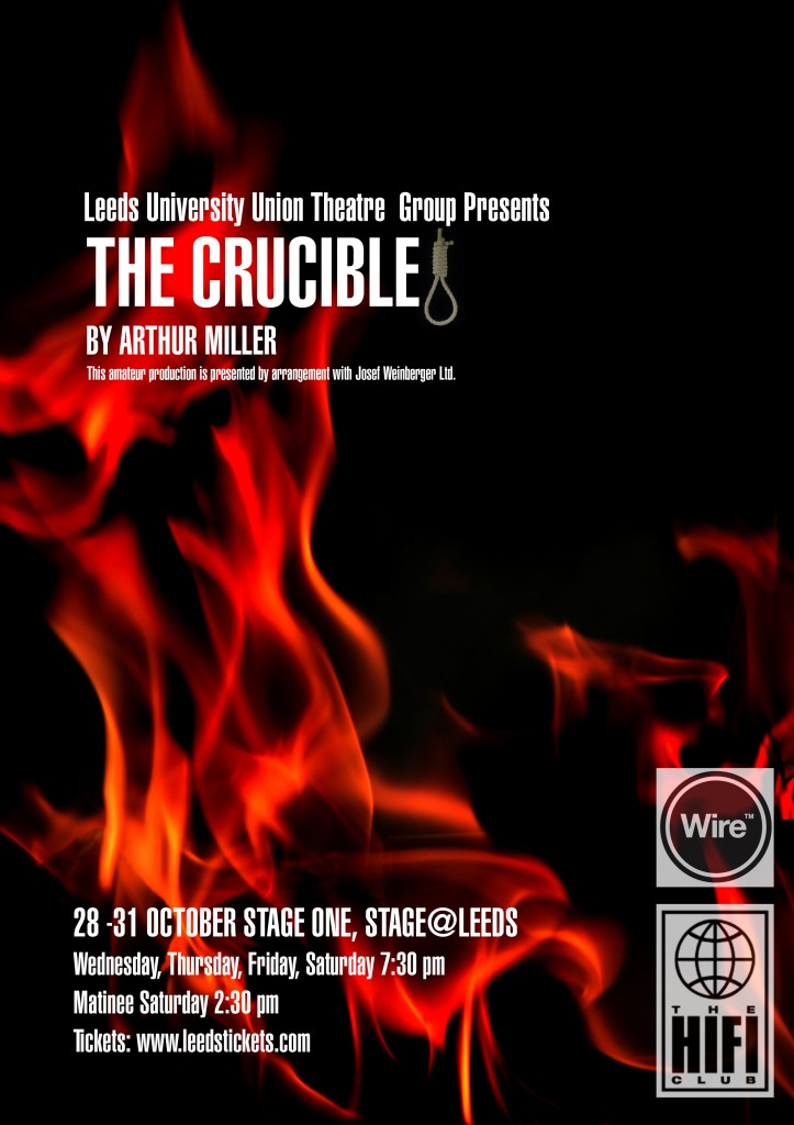 theatre group production of the crucible